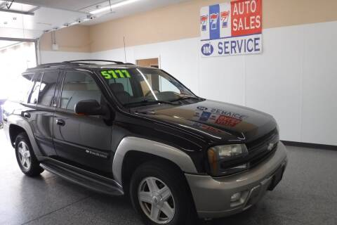 2002 Chevrolet TrailBlazer for sale at 777 Auto Sales and Service in Tacoma WA