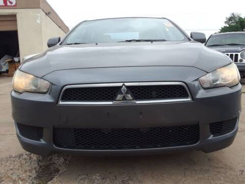 2009 Mitsubishi Lancer for sale at Auto Haus Imports in Grand Prairie TX