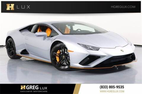 2021 Lamborghini Huracan for sale at HGREG LUX EXCLUSIVE MOTORCARS in Pompano Beach FL