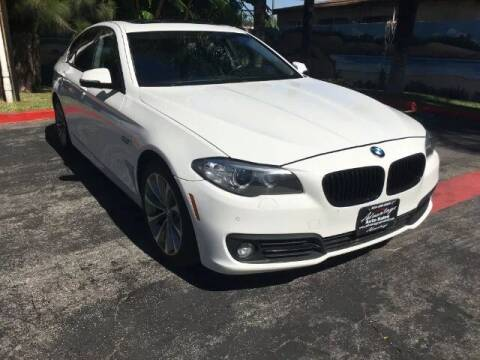 2015 BMW 5 Series for sale at ADVANTAGE AUTO SALES INC in Bell CA