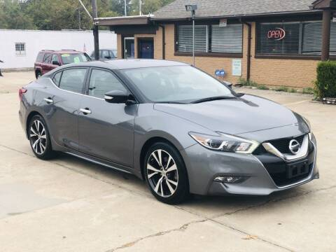 2017 Nissan Maxima for sale at Safeen Motors in Garland TX