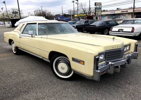 1978 Cadillac Eldorado for sale at Black Tie Classics in Stratford NJ
