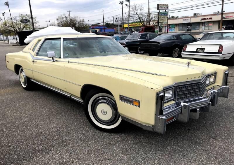 1978 Cadillac Eldorado for sale at Black Tie Classics in Stratford NJ