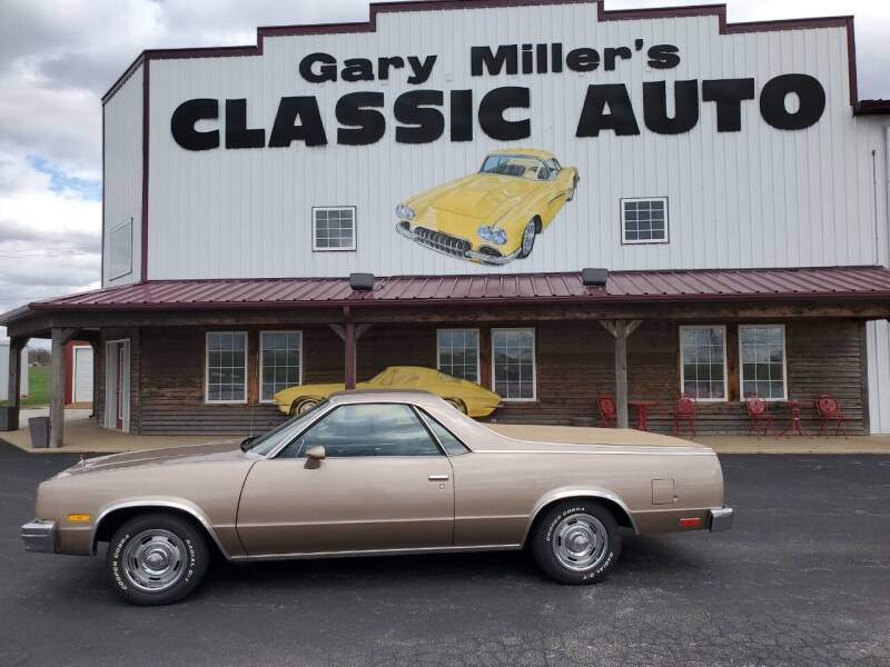 1983 Chevrolet El Camino for sale at Gary Miller's Classic Auto in El Paso IL
