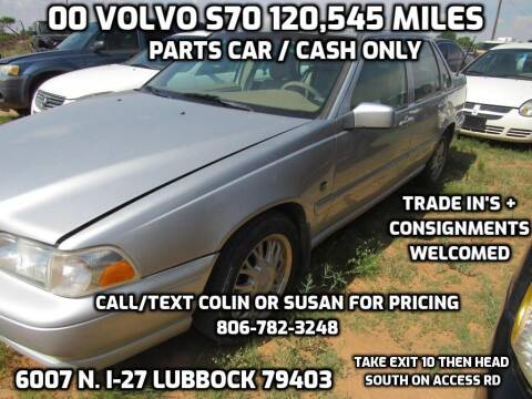 2000 Volvo S70 for sale at West Texas Consignment in Lubbock TX