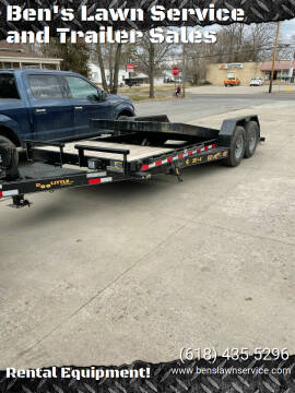 Doolittle Gravel Tilt 14,000lbs for sale at Ben's Lawn Service and Trailer Sales in Benton IL