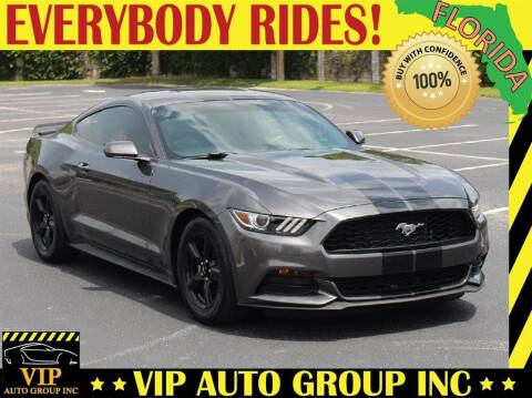 2017 Ford Mustang for sale at VIP Auto Group in Clearwater FL