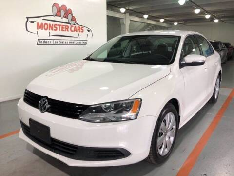 2012 Volkswagen Jetta for sale at Monster Cars in Pompano Beach FL