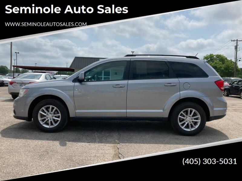 2015 Dodge Journey for sale at Seminole Auto Sales in Seminole OK