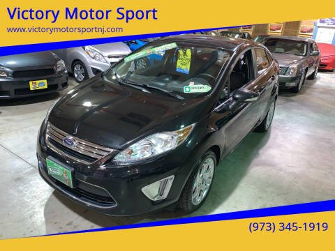 2013 Ford Fiesta for sale at Victory Motor Sport in Paterson NJ