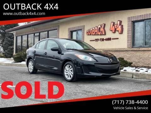 2012 Mazda MAZDA3 for sale at OUTBACK 4X4 in Ephrata PA
