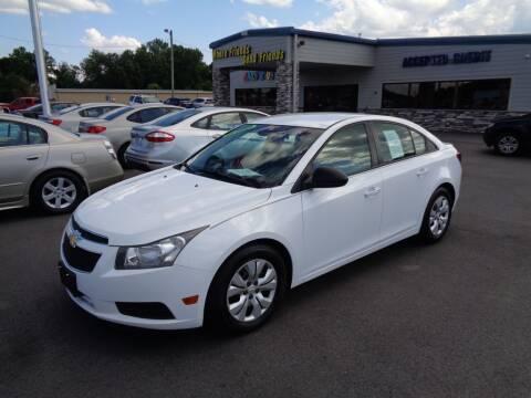 2013 Chevrolet Cruze for sale at KARS R US of Spartanburg LLC in Spartanburg SC
