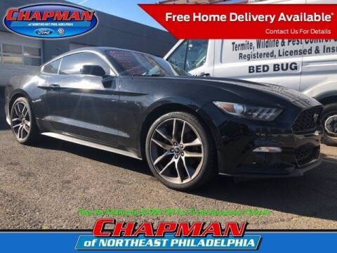 2015 Ford Mustang for sale at CHAPMAN FORD NORTHEAST PHILADELPHIA in Philadelphia PA