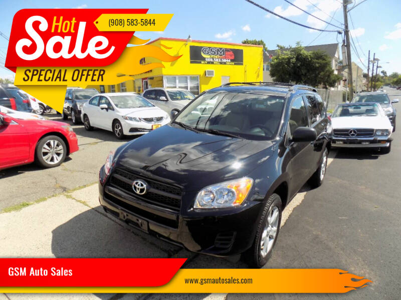 2012 Toyota RAV4 for sale at GSM Auto Sales in Linden NJ