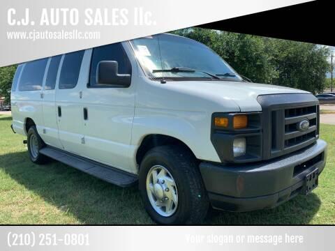 2010 Ford E-Series Wagon for sale at C.J. AUTO SALES llc. in San Antonio TX