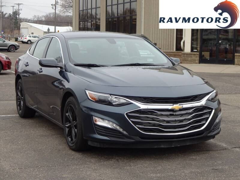 2020 Chevrolet Malibu for sale at RAVMOTORS 2 in Crystal MN