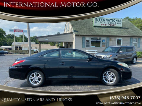 2008 Toyota Camry Solara for sale at International Motor Co. in Saint Charles MO