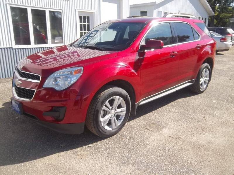 2014 Chevrolet Equinox for sale at Wieser Auto INC in Wahpeton ND