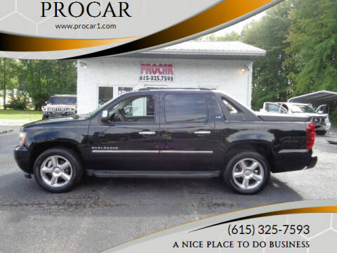 2010 Chevrolet Avalanche for sale at PROCAR LLC in Portland TN
