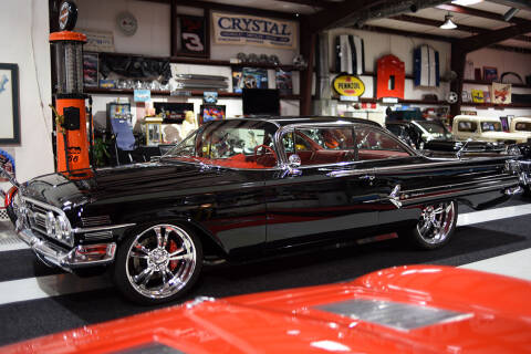 1960 Chevrolet Impala for sale at Crystal Motorsports in Homosassa FL