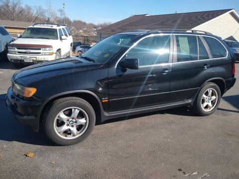 2003 BMW X5 for sale at Jodys Auto and Truck Sales in Omaha NE