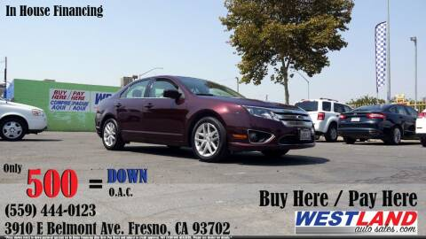 2012 Ford Fusion for sale at Westland Auto Sales in Fresno CA