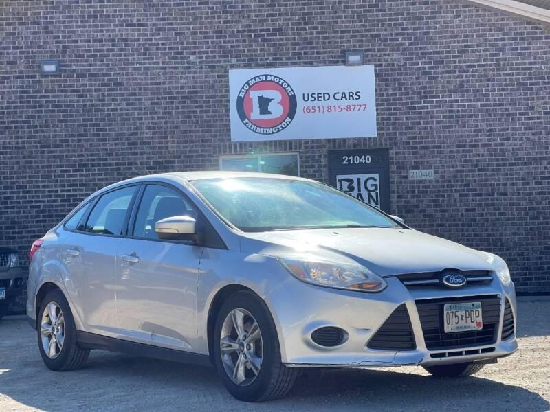 2013 Ford Focus for sale at Big Man Motors in Farmington MN
