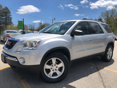2011 GMC Acadia for sale at J's Auto Exchange in Derry NH