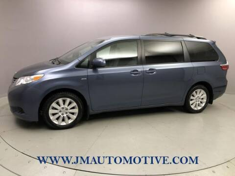 2016 Toyota Sienna for sale at J & M Automotive in Naugatuck CT
