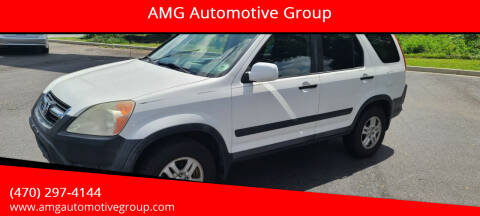 2004 Honda CR-V for sale at AMG Automotive Group in Cumming GA