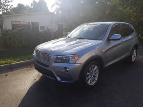 2013 BMW X3 for sale at TR MOTORS in Gastonia NC