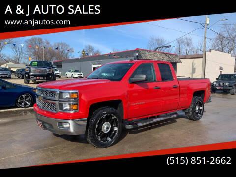 2014 Chevrolet Silverado 1500 for sale at A & J AUTO SALES in Eagle Grove IA