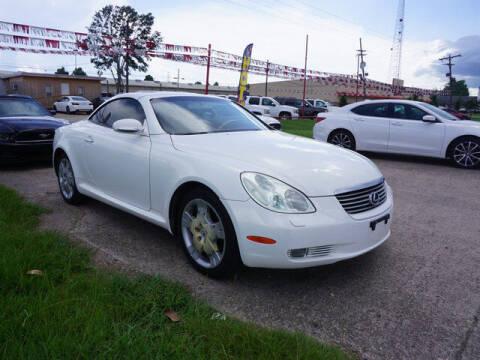 2002 Lexus SC 430 for sale at BLUE RIBBON MOTORS in Baton Rouge LA