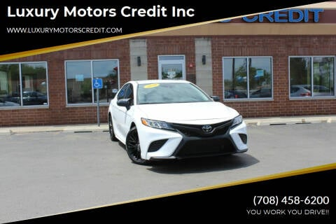 2020 Toyota Camry for sale at Luxury Motors Credit Inc in Bridgeview IL