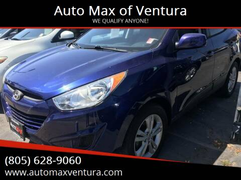 2011 Hyundai Tucson for sale at Auto Max of Ventura in Ventura CA
