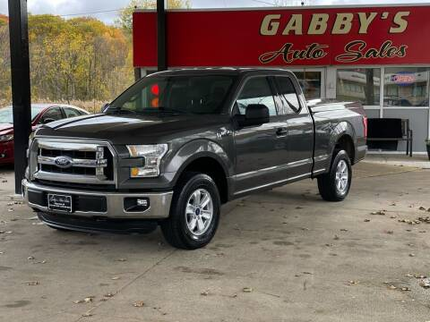 2016 Ford F-150 for sale at GABBY'S AUTO SALES in Valparaiso IN