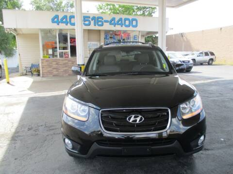 2010 Hyundai Santa Fe for sale at Elite Auto Sales in Willowick OH