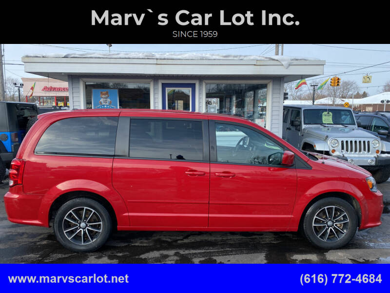 2015 Dodge Grand Caravan for sale at Marv`s Car Lot Inc. in Zeeland MI