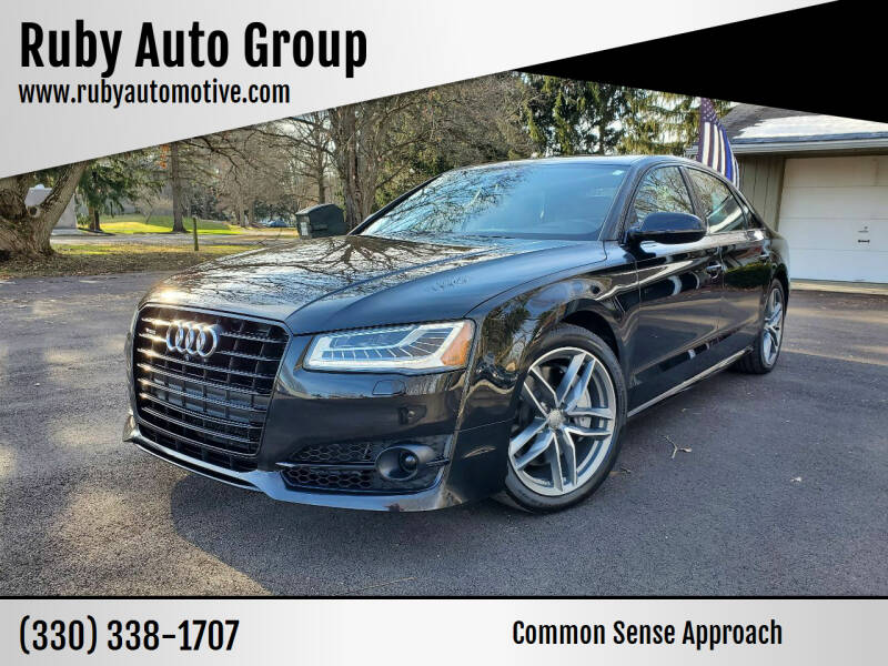 2017 Audi A8 L for sale at Ruby Auto Group in Hudson OH