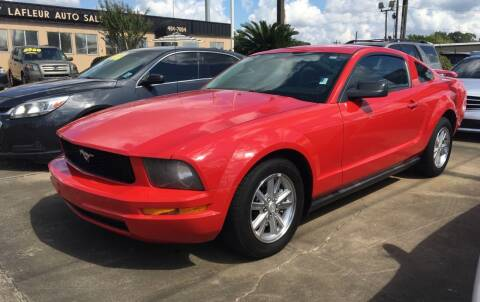 2007 Ford Mustang for sale at Bobby Lafleur Auto Sales in Lake Charles LA