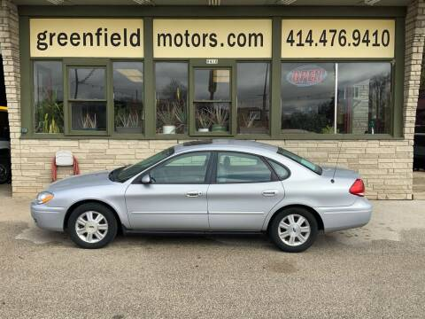 2005 Ford Taurus for sale at GREENFIELD MOTORS in Milwaukee WI