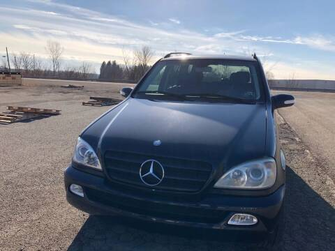 2002 Mercedes-Benz M-Class for sale at Stan's Auto Sales Inc in New Castle PA