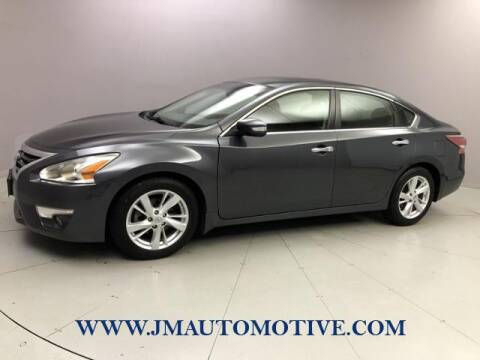 2013 Nissan Altima for sale at J & M Automotive in Naugatuck CT