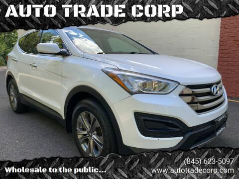 2015 Hyundai Santa Fe Sport for sale at AUTO TRADE CORP in Nanuet NY