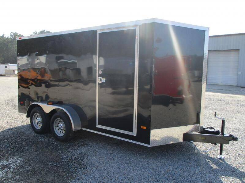 2021 Covered Wagon Trailers Silver Series 7x14 Vnose for sale at Vehicle Network - Barnes Equipment in Sims NC