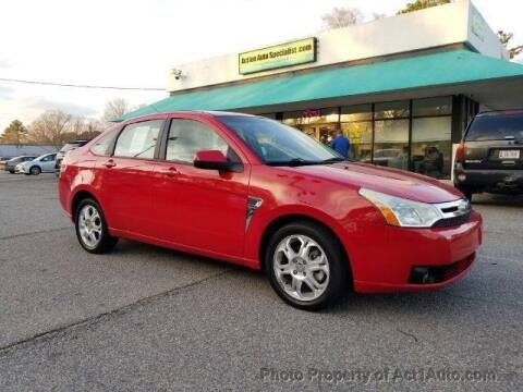 2008 Ford Focus for sale at Action Auto Specialist in Norfolk VA