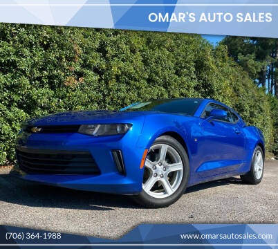 2017 Chevrolet Camaro for sale at Omar's Auto Sales in Martinez GA