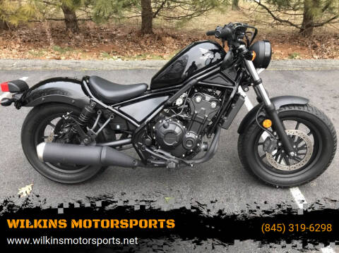 2017 Honda Rebel 500 for sale at WILKINS MOTORSPORTS in Brewster NY