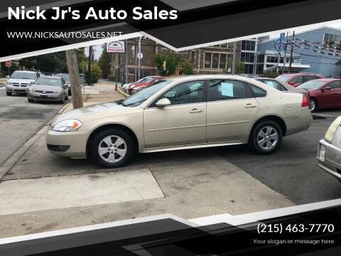 2011 Chevrolet Impala for sale at Nick Jr's Auto Sales in Philadelphia PA