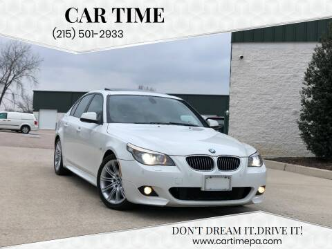 2010 BMW 5 Series for sale at Car Time in Philadelphia PA